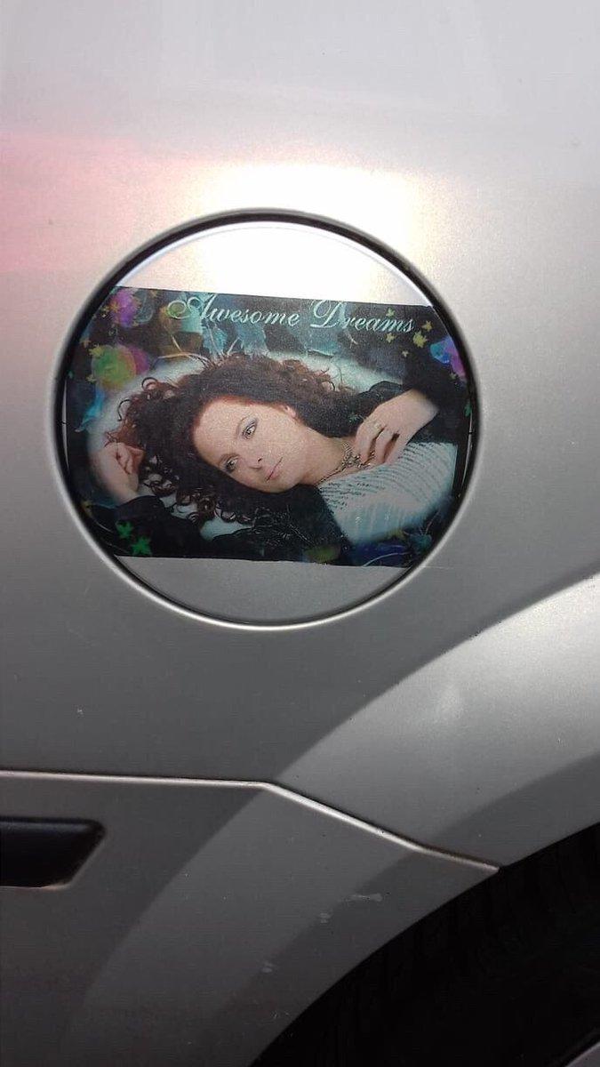 Ik rij rond op de auto van Elfi Allar uit Duitsland 💪🏻