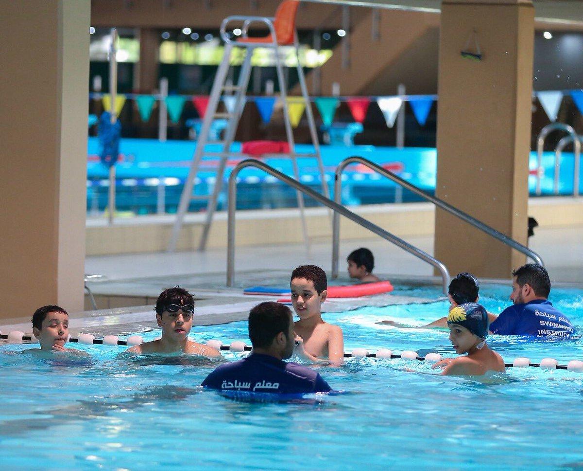 المسبح بإنتظاركم 🏊🏻♂️💪🏻 📸 #برنامج_سباحة_اكاديمي على مسبح الهيئة العامة #الرياض