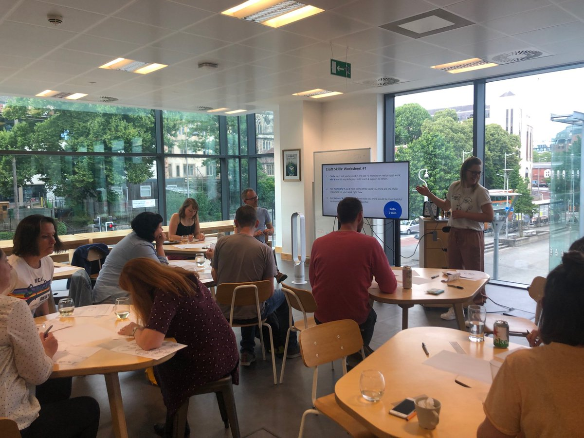 Thanks to @oohmawolfie and @cxpartners for hosting the @TeamReOps workshop in Bristol. A lovely space for a great bunch of folks to come together in. Great night!