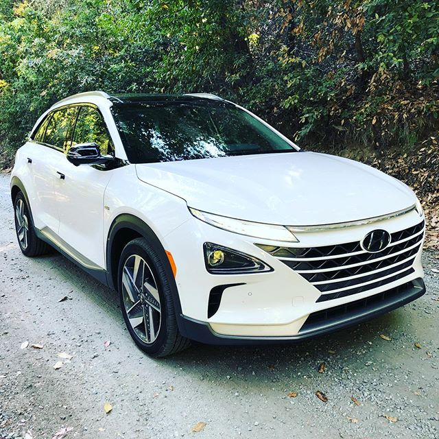 We're in the Bay Area today and driving to Lake Tahoe tomorrow with a type of vehicle that we've never had a chance to ever drive or review. You're looking at the all-new 2019 #HyundaiNexo, a hydrogen powered fuel-cell electric SUV with up to 380 miles of range, drives like a ele