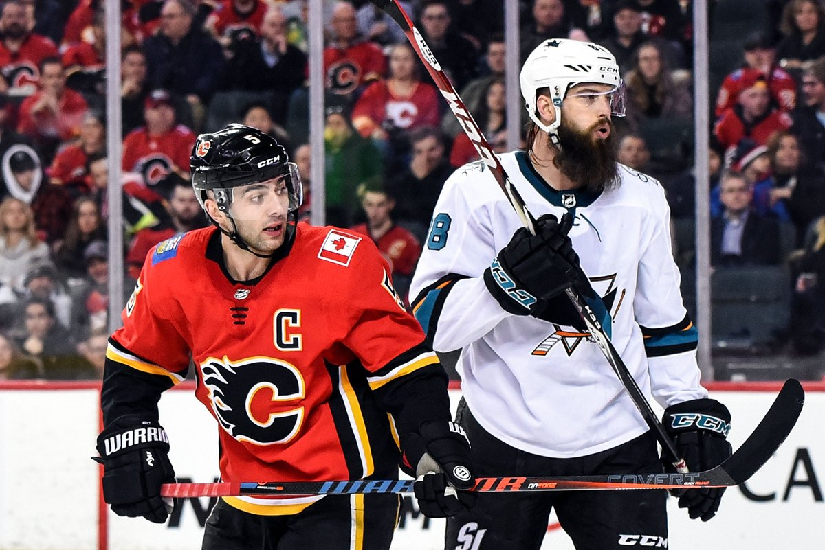 @SanJoseSharks's photo on Mark Giordano