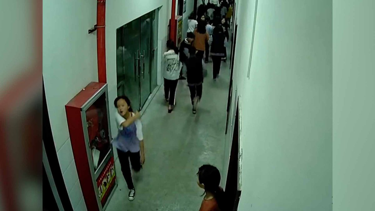 #ICYMI Chinese girl, 13, helps classmates evacuate during earthquake