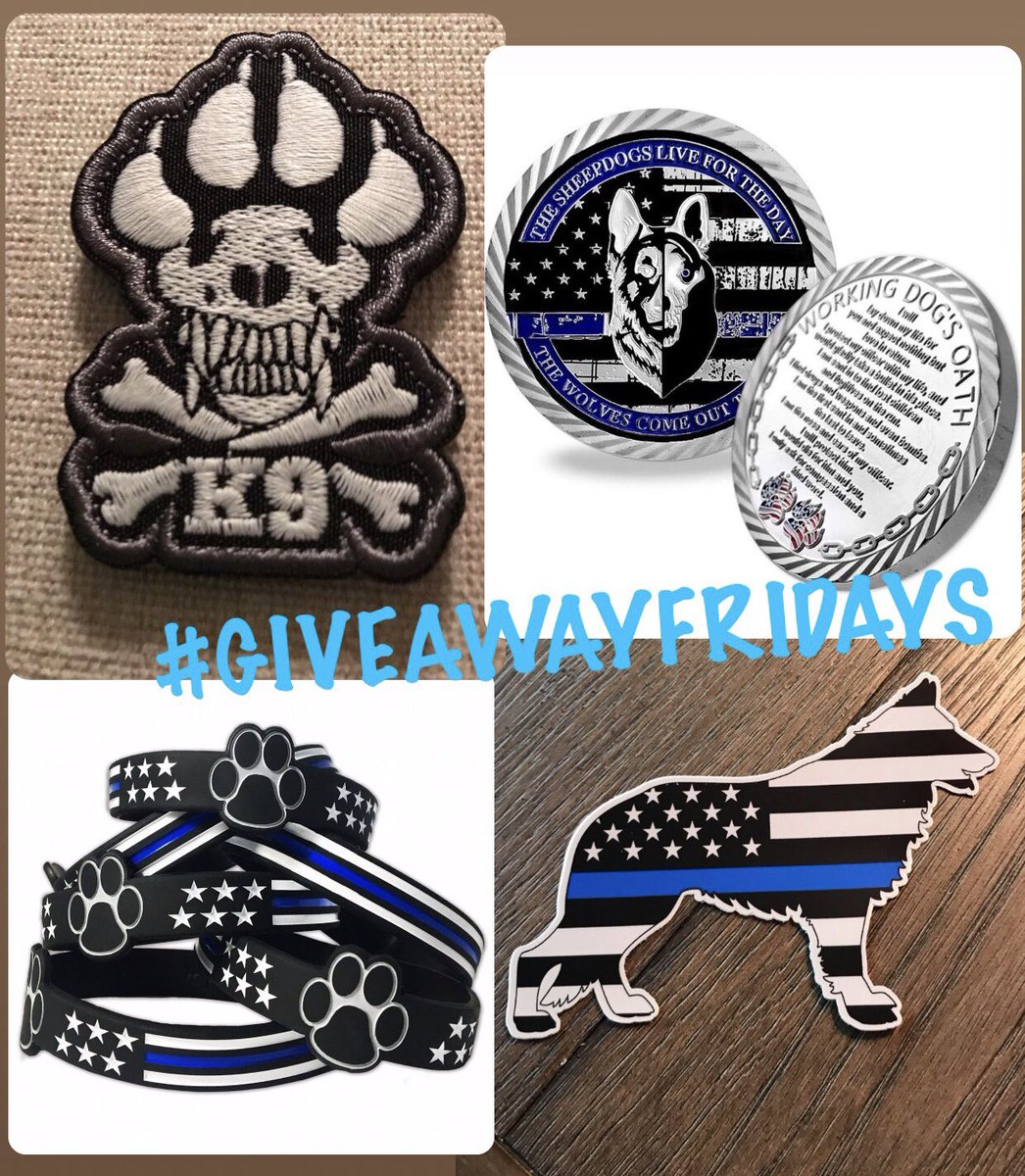 We just wanted to share a teaser for this week's #giveaway! We'll be running **TWO** starting Friday!! Our regular #GiveawayFridays AND a bonus giveaway for those who donate to @k9sofvalor! Don't miss it! Plz RT! #k9 #bluepawsmatter #livepd #livepdnation   http:// k9sofvalor.org    <br>http://pic.twitter.com/Jkh31udSSH