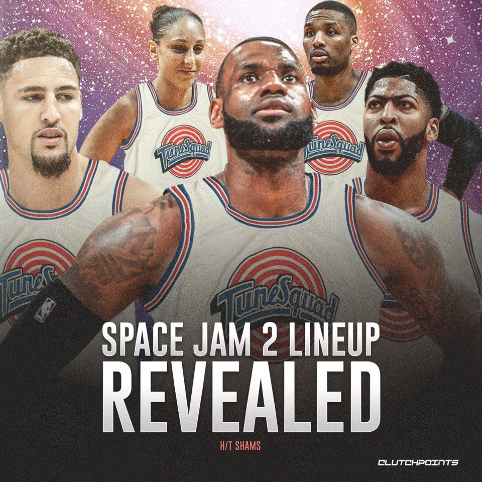 Anthony Davis will join LeBron James in Space Jam 2.   #Lakers<br>http://pic.twitter.com/A5hLDUZQeN