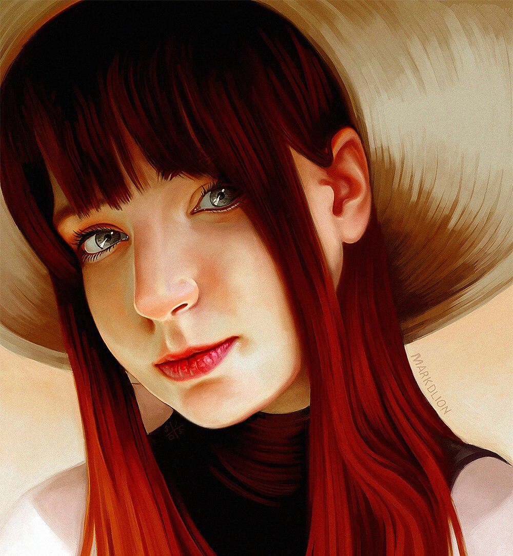 RGD Straw Hat  #art #drawing #draw #rgd #digitalart #illustration #portrait #painting #paint #fineart #artist #sketch #arte #artsy ...
