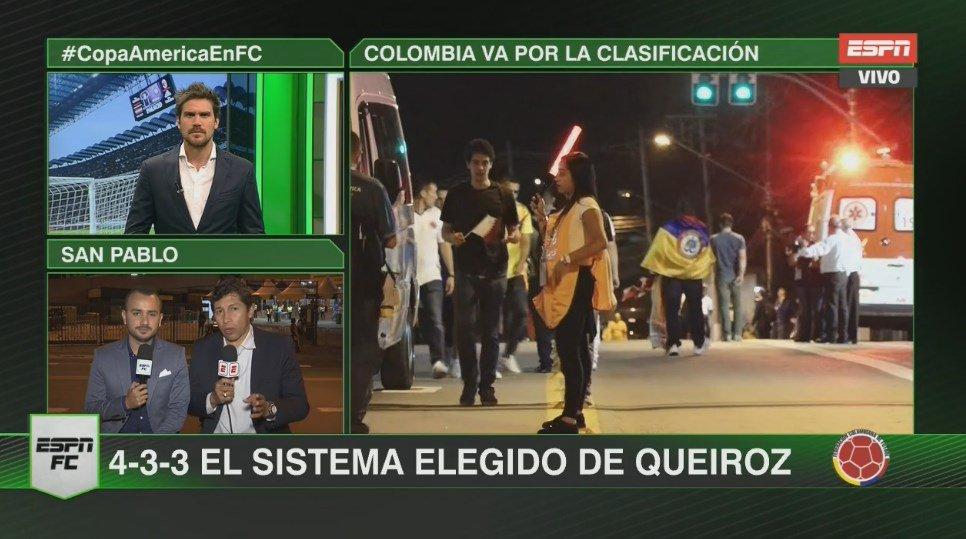 ¡Colombia va por la clasificación! Sumate a la pantalla de #ESPN que @DavidGutierrezD y el @patronbermudez te llevan toda la previa del duelo ante Qatar en la #CopaAméricaEnFC.