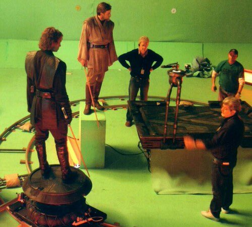 Star Wars Holocron On Twitter Behind The Scenes Of The Obi Wan And Anakin Duel In Revenge Of The Sith
