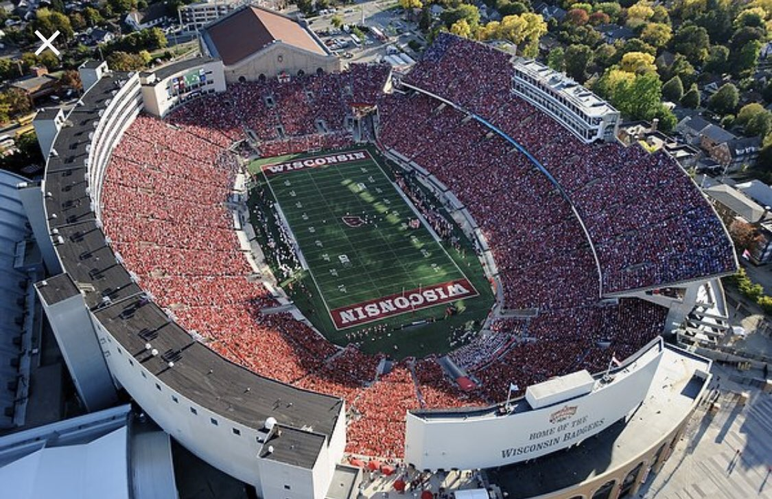 Can't wait to  the facilities at Camp Randall Stadium tomorrow. #ONWISCONSIN <br>http://pic.twitter.com/H5CWOgfq43
