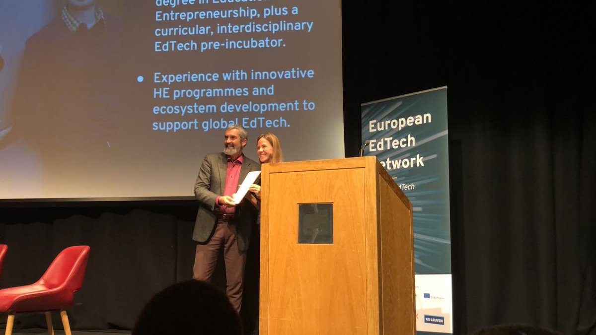 Celebrating Oulu's newest education entrepreneur! #EdtechX19 #EETNLaunch<br>http://pic.twitter.com/NENqvpzJNM