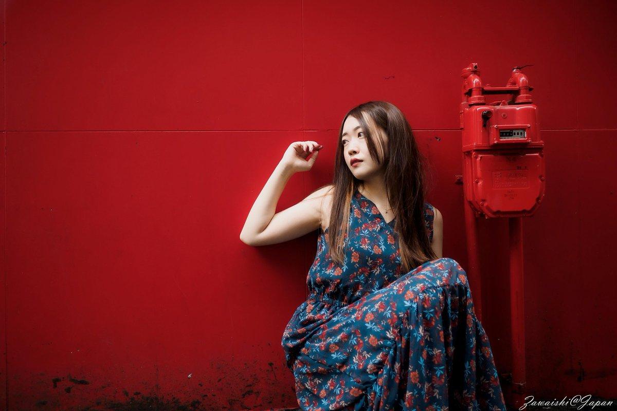 2019/06/16 仙台一番町周辺撮影会  The Red World  #モデルは_ひなさん @Hina___Shooting #素敵なモデルさん  #shootingsendai  前回撮れなかった場所で  #仙台 #ポートレート #portrait