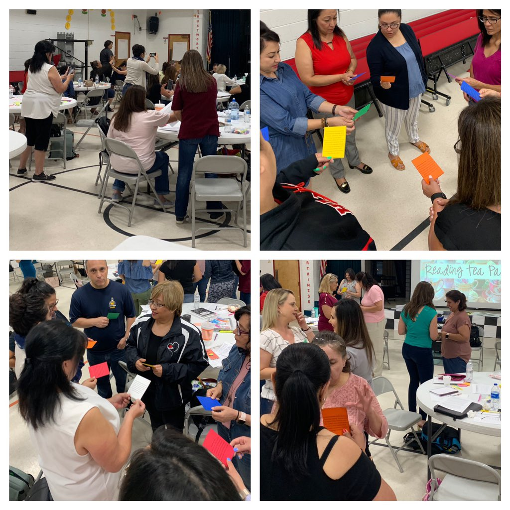 What's better than a one hour or two hour session with the amazing @MsCarltonsclass ? A full six hour session! Thank you @YsletaISD for hosting us this week #newELARTEKS  #summerPD #mytcm #readingandwriting<br>http://pic.twitter.com/IBVn12VE10