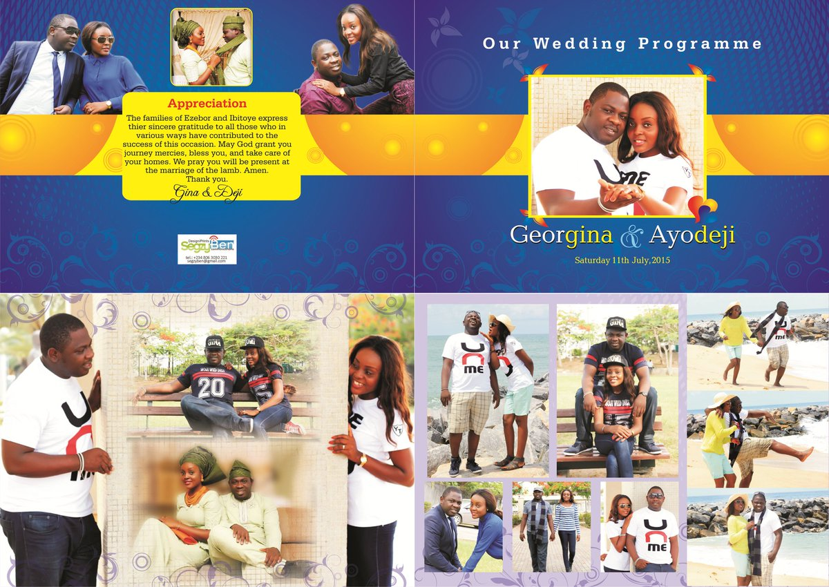 We are a Printing Tech. outfit that prints from #EventsInvitations, #Memopad, #Jotter,#HandNotes, #Calender's,#Banners, #SavStickers, #EventsPass #EventsProgrammes, and #RollupBanners of all sizes   Call /WhatsApp +2348063030221 http://www.instagram.com/Segzyben_Comm.