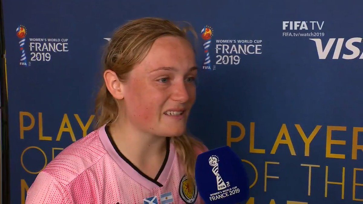 """""""Don't give up your dreams, I've achieved mine.""""  #OurGirlsOurGame #SWNT"""