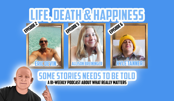 It's summertime and this give you a chance to kick back and listen to these wonderful episode of Life, Death & Happiness.  Listen through:  iTunes:  https://podcasts.apple.com/podcast/life-death-happiness/id1464439029…  YouTube: https://www.youtube.com/channel/UC0SPLtEQBS85cav7Jyg05gg?view_as=subscriber…  #Podcast #Cancer #caregiver #fanconianemia #rarediseases #podcasting