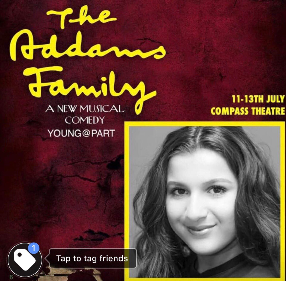 "So happy to finally announce that ⁦@FarahElbarhdadi⁩ has been cast as ""Granny Addams"" at the Compass Theatre Uxbridge. Tickets available now : https://t.co/oW5RCO9ZSF #addamsldn #WhenYouranAddams 🎭 https://t.co/Mp4E18DUjM"