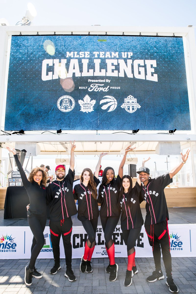 With the inspiring fundraising efforts of 72 teams, our seventh annual MLSE @TeamUpChallenge, presented by @Ford, raised over $350k (net) to improve the lives of youth through sport at @MLSELaunchPad! 👏💙🏆 #FiveSportsOneDay | #MoreThanAGym Event Album: bit.ly/2L1H2bC
