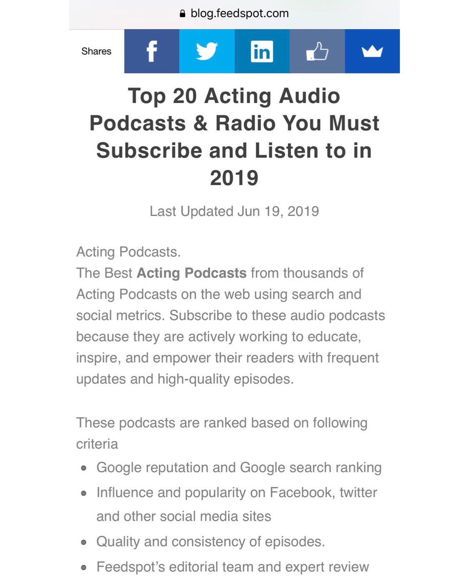 Thank you #feedspot for naming #10000nospodcast in your TOP 5 for 2019!!! Huge honor.  Just wish @samjonespictures wasn't such a charming bastard... did you really have to nudge me out by one, Sam?  Really?  #fouristhenewone #podcasts #bestof #thankyou