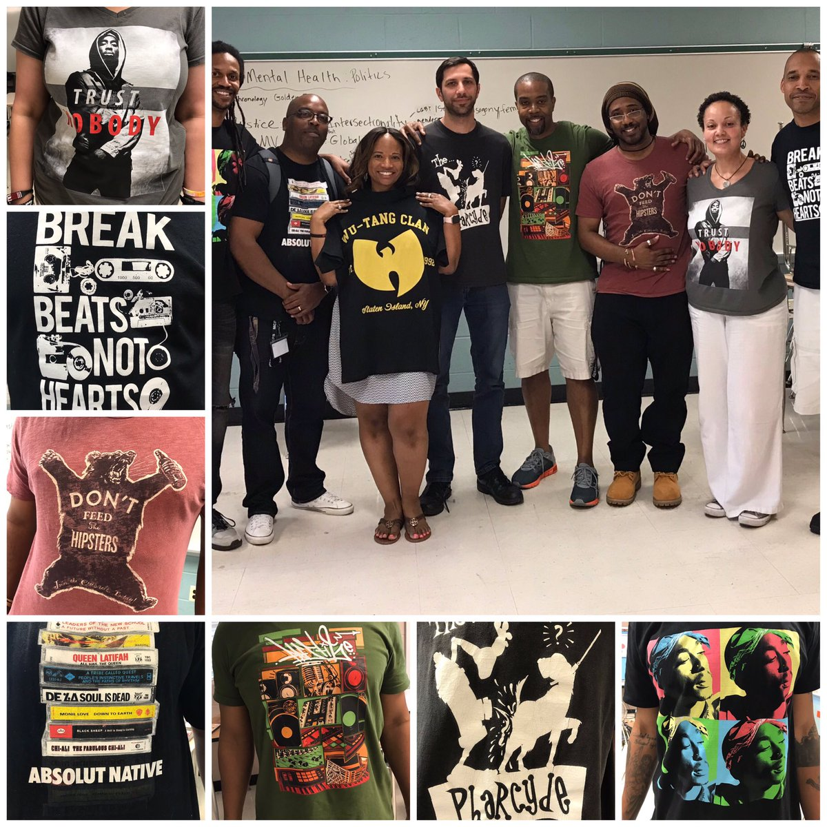 Thanks @MrSmithInspires and team for your leadership, creativity, and commitment to making the new Hip Hop History and Culture course a great learning experience for our students! #CurriculumBuilders