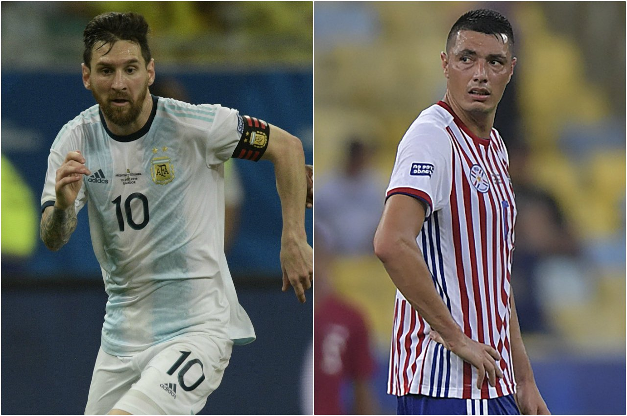 Argentina VS Paraguay Copa América 2019