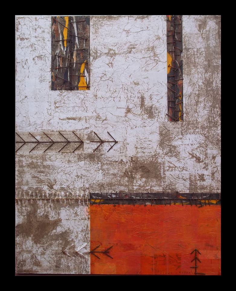 Obra de Claudio Roldán:  Técnica Mixta sobre madera.  120 x 150 cms.  #arte #arteargentino #ClaudioRoldan #Roldan #tecnicaMixta #pintura #fineart #Creative #ZonaUrbana #painting #artwork #artontwitter #twitart #dibujo #pintor