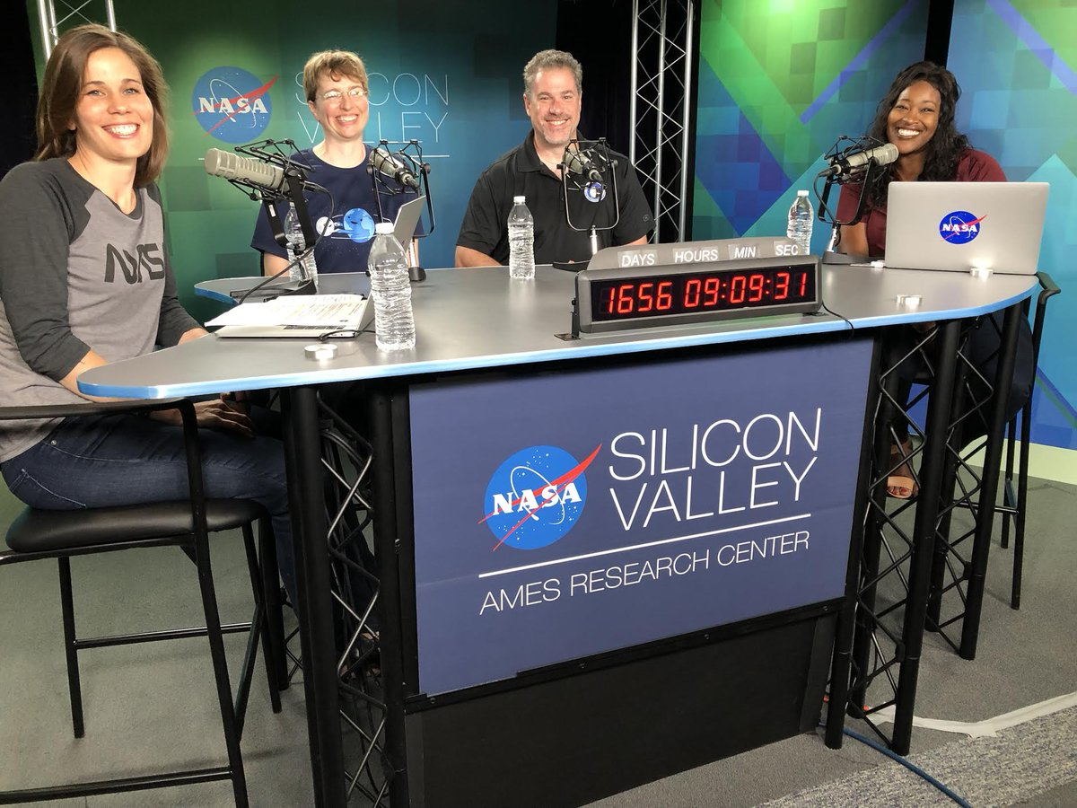 LIVE NOW: Hear from experts about our #Artemis program that will send the next man and first woman to the Moon by 2024 in this episode of NASA in Silicon Valley Live! Have questions? Chat with us on Twitch: twitch.tv/nasa