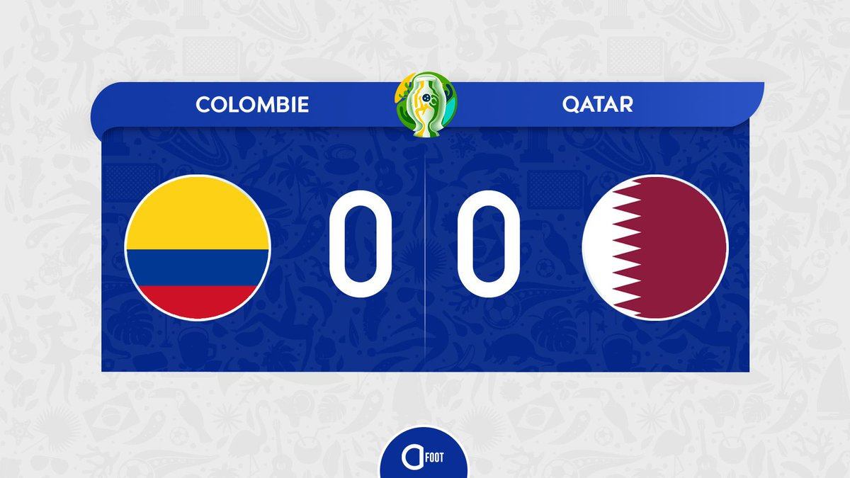 ⏱ MI-TEMPS ! COLOMBIE 🇨🇴 0-0 🇶🇦 QATAR