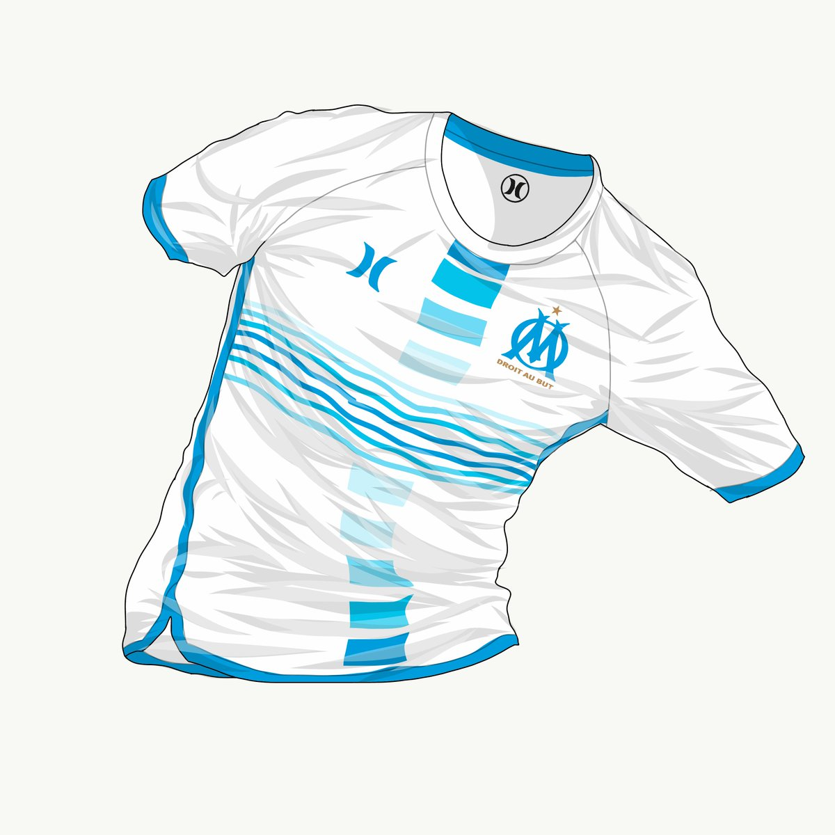 Last entry for #JuevesFantasy #Semana21 Olympique de Marseille x Hurley, with a lower cut inspired by board shorts @LaCasacaBlog @EleteTSC @marcadegol<br>http://pic.twitter.com/lPWx02aFhl