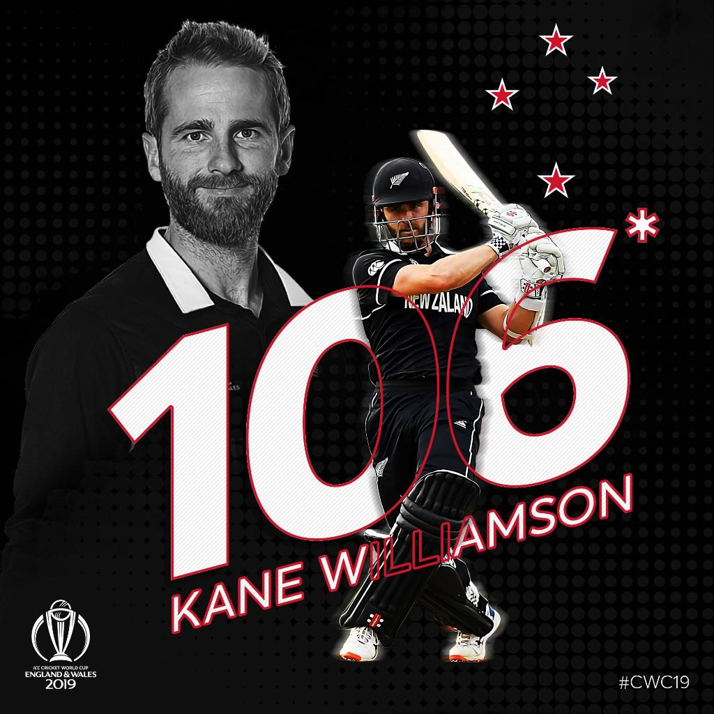 Kane Williamson out here adding a new star to the New Zealand flag *#BACKTHEBLACKCAPS #CWC19