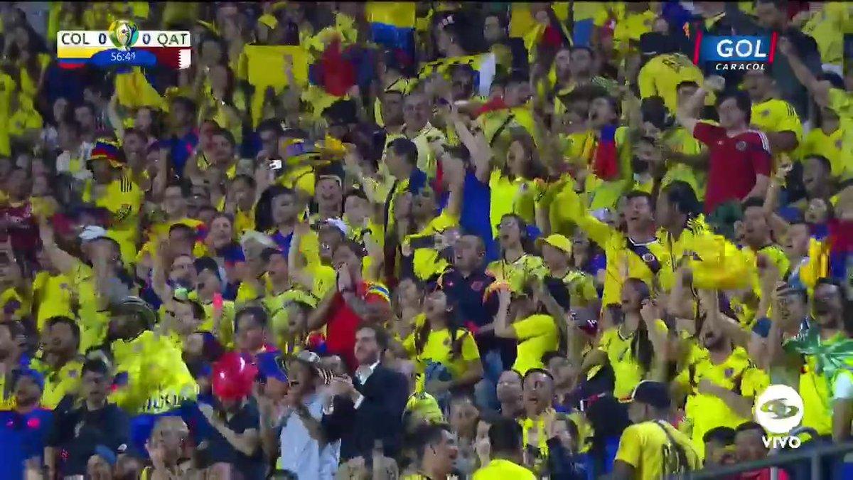 #VamosColombia ¡Calienta el 'Tigre'! Falcao se prepara para ingresar al compromiso https://copaamericaenvivo.gol.caracoltv.com/