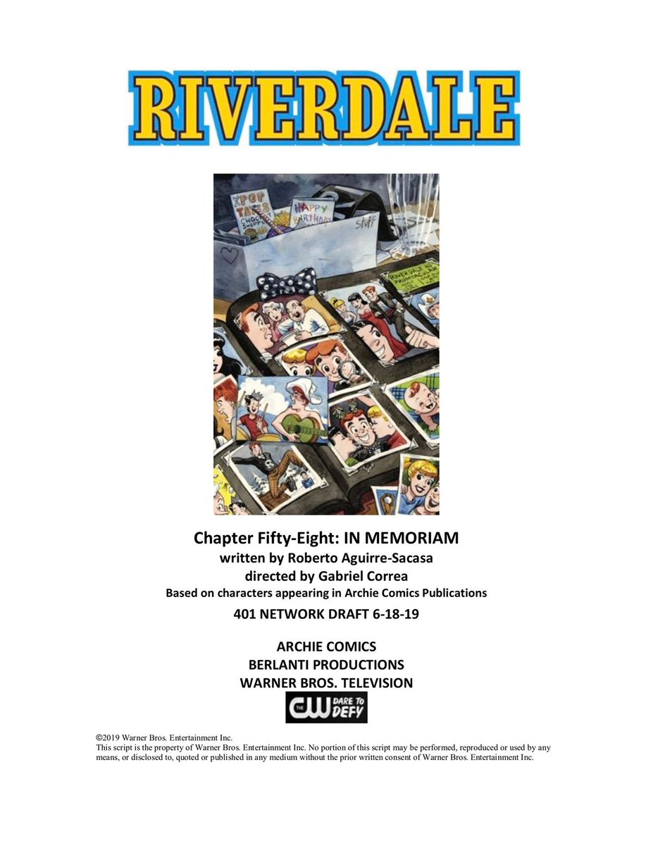 'A tribute to our fallen friend': How 'Riverdale' plans to honor Luke Perry