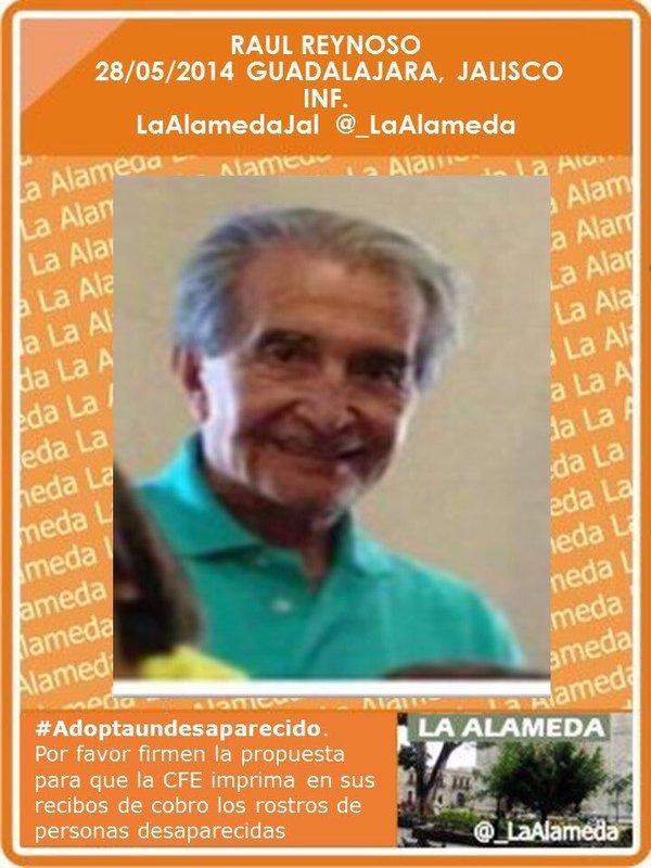 #TeBuscamos Raúl Reynoso . Guadalajara, Jalisco #Guadalajara #Jalisco