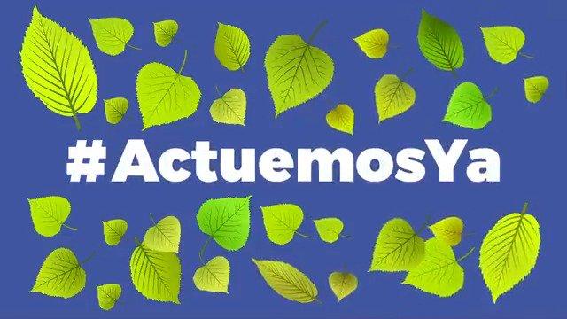 ¡Todas y todos podemos contribuir para cuidar al planeta! 🌎 #ActuemosYa   ➡ @GPmoreNATURALES.