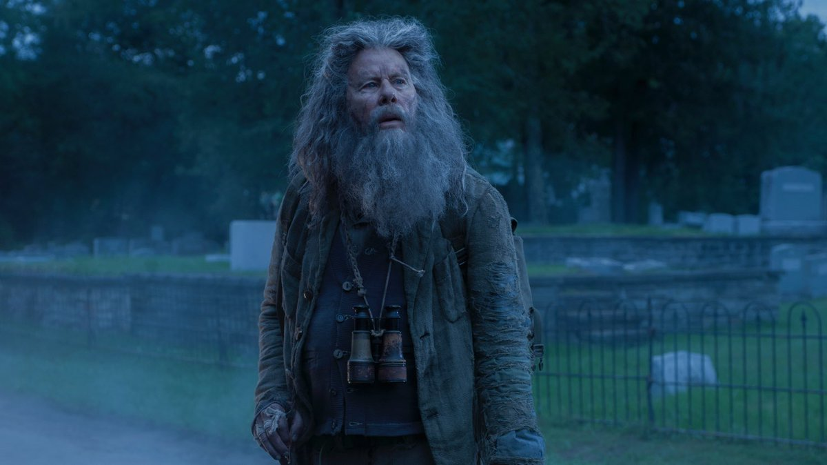 I got halfway through THE DEAD DON'T DIE before I realized that Nick Nolte was actually Tom Waits
