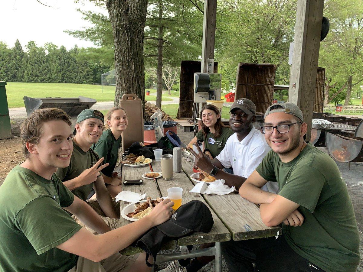 These smiling faces are just a few of the crew that make a Smokey Glen Farm experience fun! – at Smokey Glen Farm