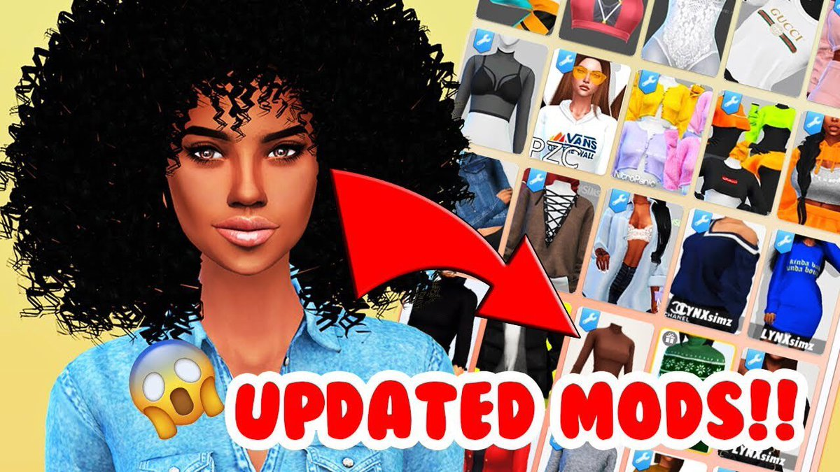 Shoutout to the mod creators! Y'all are on it!!    WHAT MODS ARE UPDATED!! (June 2019 Patch)// The Sims 4 Mods  https:// youtu.be/xuAy45k9Mv4    <br>http://pic.twitter.com/EHwAW2LyWV