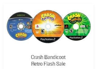 Flash Crash Retro Sale via GameStop  Use Code CAG16 to Save
