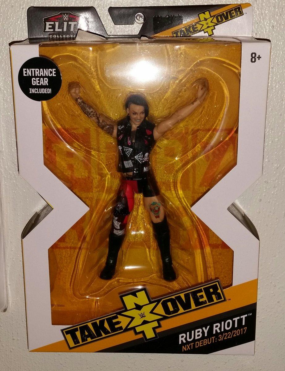 WWE Mattel Ruby riott Series 98 Figure Loose
