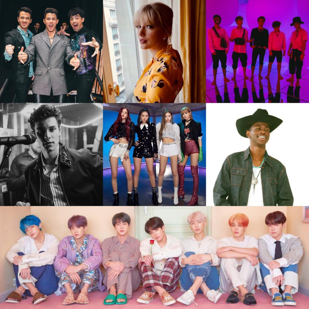 Nominations for #TeenChoice are out! Congrats to @jonasbrothers @taylorswift13 @whydontwemusic @ShawnMendes @ygofficialblink @LilNasX @BTS_twt & all the nominees!