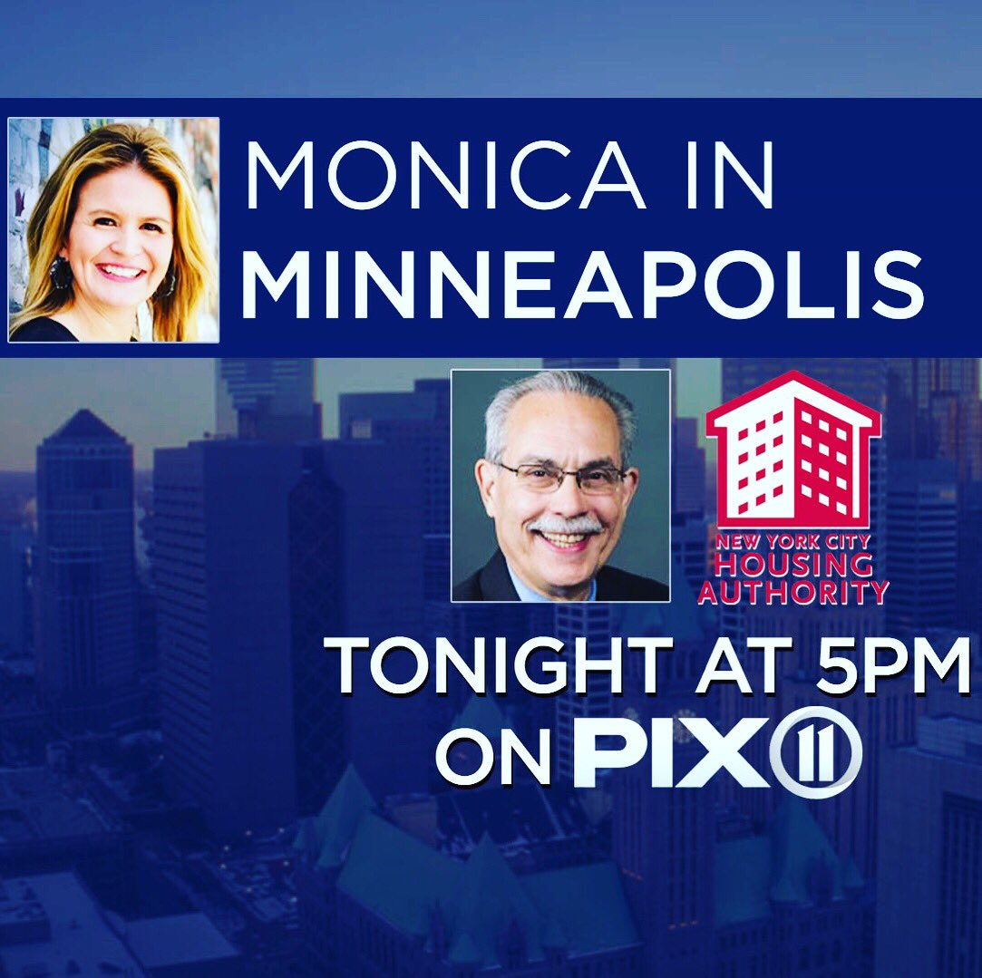 Watch our reports starting Thursday at 5 and 10 pm PIX 11 #monicamakesithappen #monicainminneapolis of ofcourse on pix11's Facebook page !! Watch and share! What do you want me to ask him. Always powered by the people.