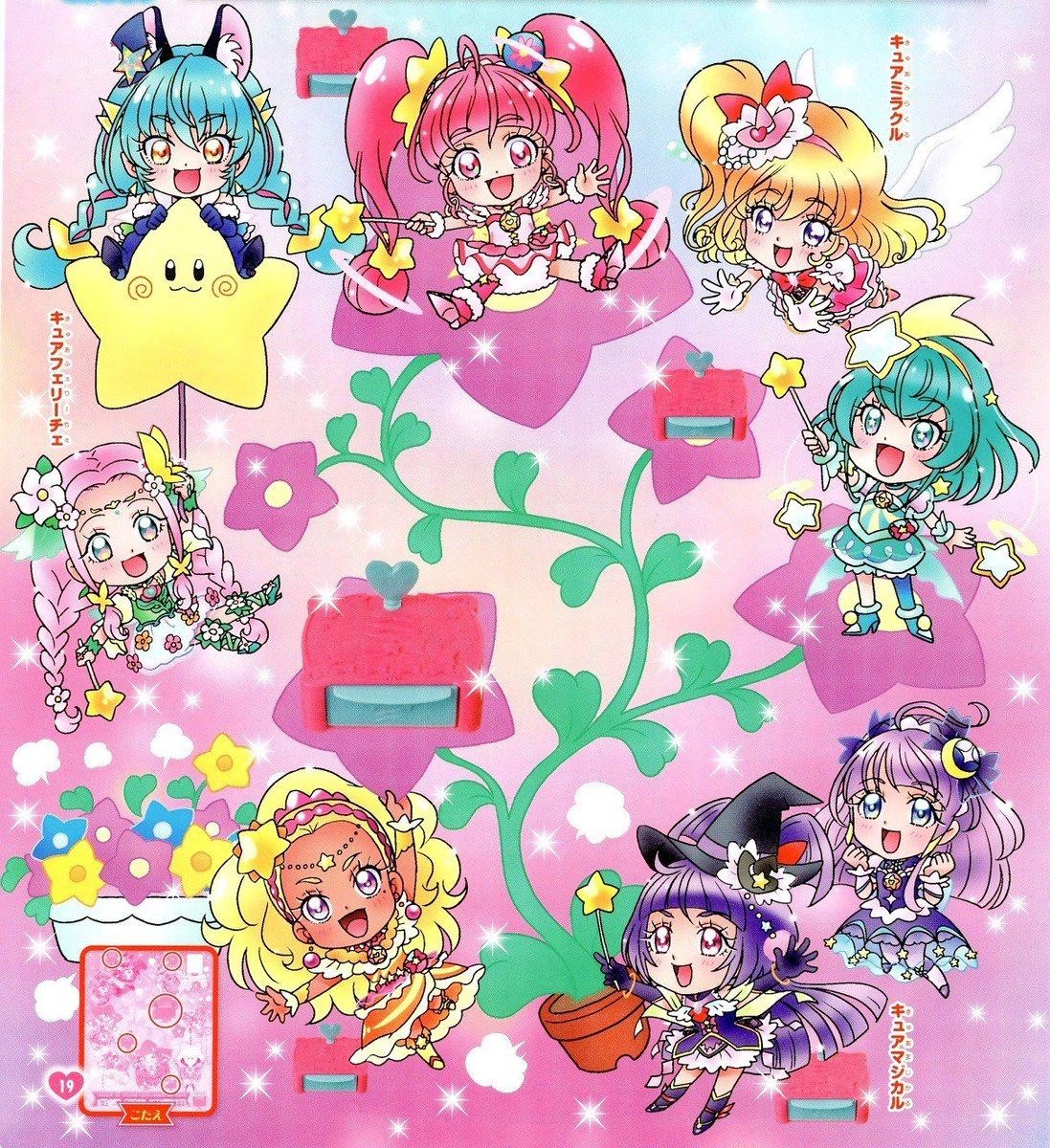 RT @KyuaGuardians: Chibis Star ⭐ Twinkle Precure y Mahou Tsukai Precure! 😍💖 #Precure https://t.co/GBYXptgrog