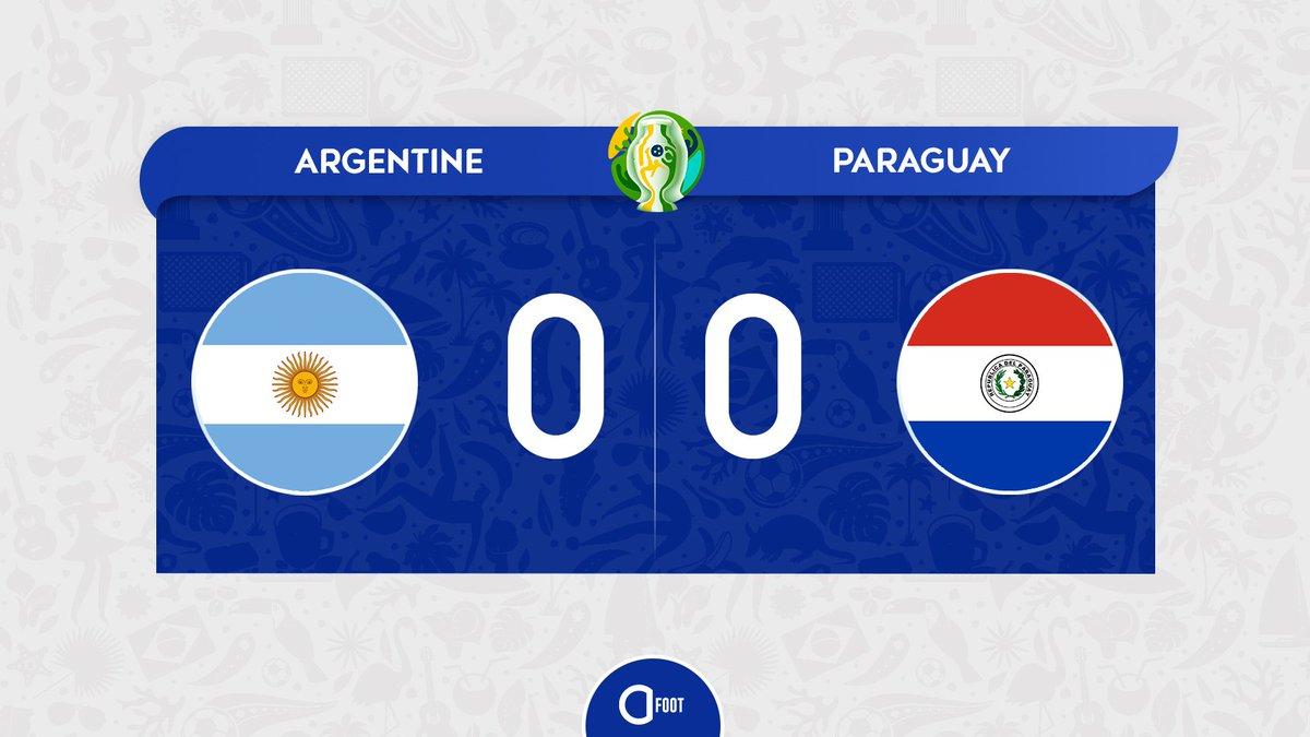 ⏱ Cest parti pour le second match de ce Groupe B de #CopaAmerica. LArgentine, dos au mur, doit à tout prix aller chercher la victoire.