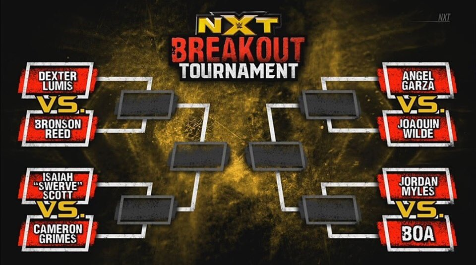 WWE NXT Breakout Tournament Announced, Brackets And Full List Of Competitors