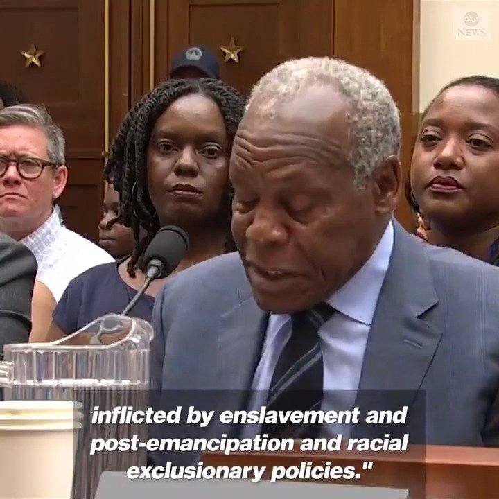 Danny Glover calls House panel hearing on reparations yet another important step in the long and heroic struggle of African-Americans to secure reparations for the damages inflicted by enslavement and post-emancipation and racial exclusionary policies. abcn.ws/2XtlI58