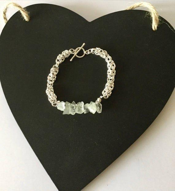 Raw or Rough gemstones are full of charm  https:// buff.ly/2In9xif     #bracelet #gemstones #gemstonejewelry #handmadebyme #handmadegift #DistinctbyDesign #ukcraft <br>http://pic.twitter.com/ex3cDD5isA