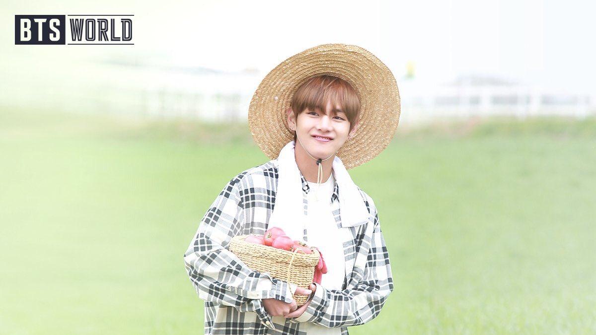 Our Newbie Farmer boy Kim Taehyung 🥺🥺