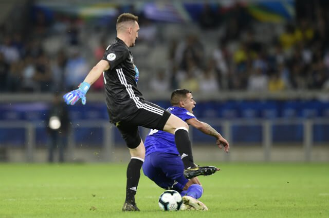 КА. Аргентина - Парагвай 1:1. Дерлис Гонсалес не забил пенальти и спас альбиселесте от фиаско - изображение 4