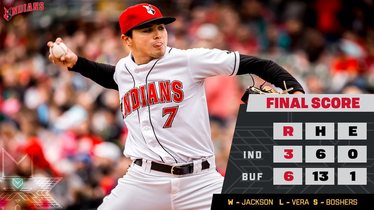 The Tribe fought back from an early deficit, but Buffalo scored three in the sixth to level the series. Rubber game tomorrow at 1:05! #RollTribe