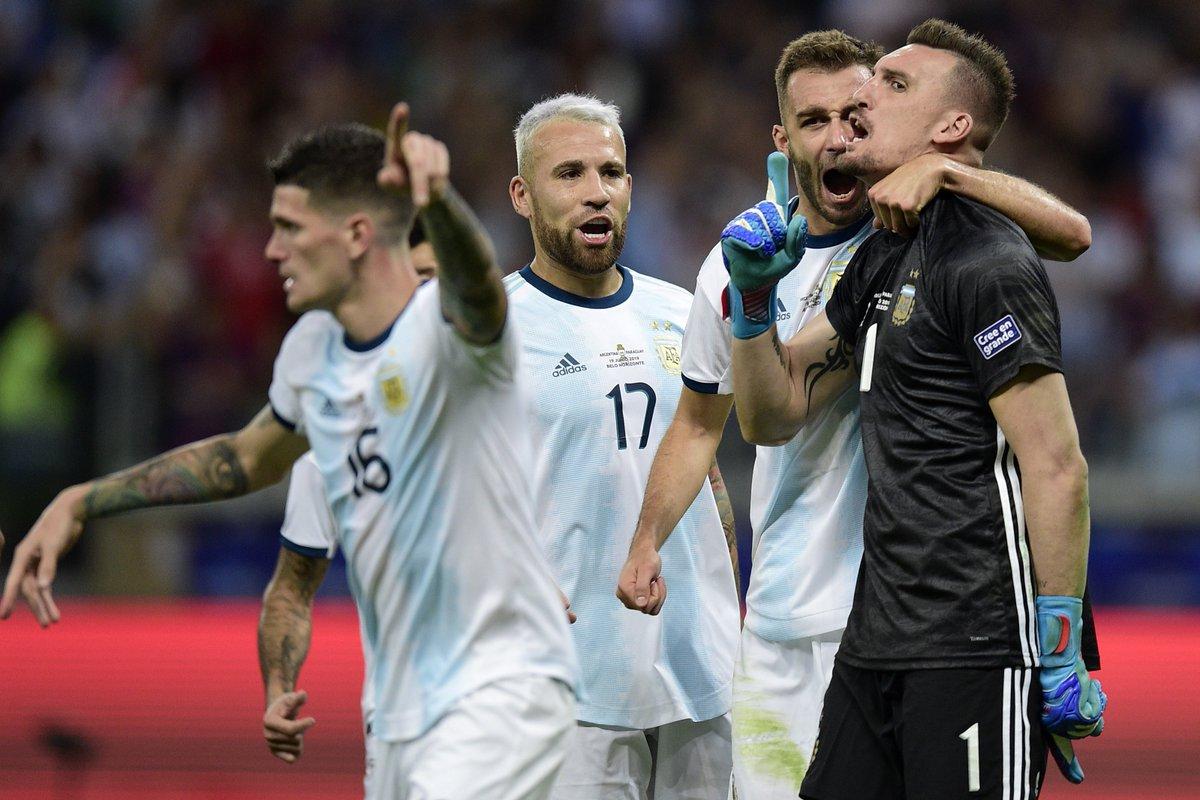 КА. Аргентина - Парагвай 1:1. Дерлис Гонсалес не забил пенальти и спас альбиселесте от фиаско - изображение 6