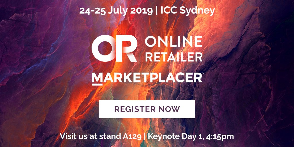 Excited to be exhibiting at Online Retailer next month in Sydney.  @jasonawyatt will be delivering a keynote on day 1. Don't miss out on tickets and be sure to visit the team at stand A129!  https://t.co/Pa4GkoHIdY   @eretailer #marketplaces #ecommerce https://t.co/pcohbzS2RQ