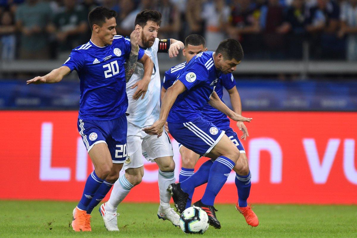 КА. Аргентина - Парагвай 1:1. Дерлис Гонсалес не забил пенальти и спас альбиселесте от фиаско - изображение 1